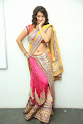 santoshini sharma photos in half saree-thumbnail-16