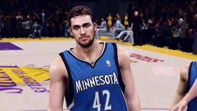 NBA 2K13 Kevin Love Minnesota Timberwolves