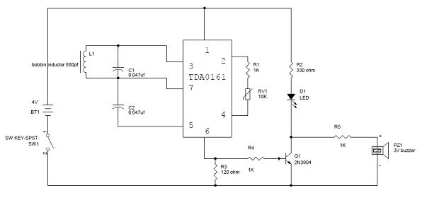 Awesome Metal Detector Circuit Engineering Projects Wiring Digital Resources Bemuashebarightsorg