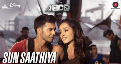 Sun Saathiya Maahiya Guitar Chords ABCD 2 Shraddha Kapoor