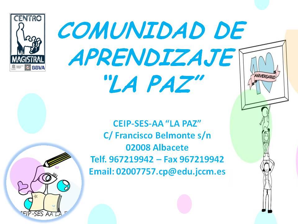 COMUNIDAD DE APRENDIZAJE LA PAZ DE ALBACETE