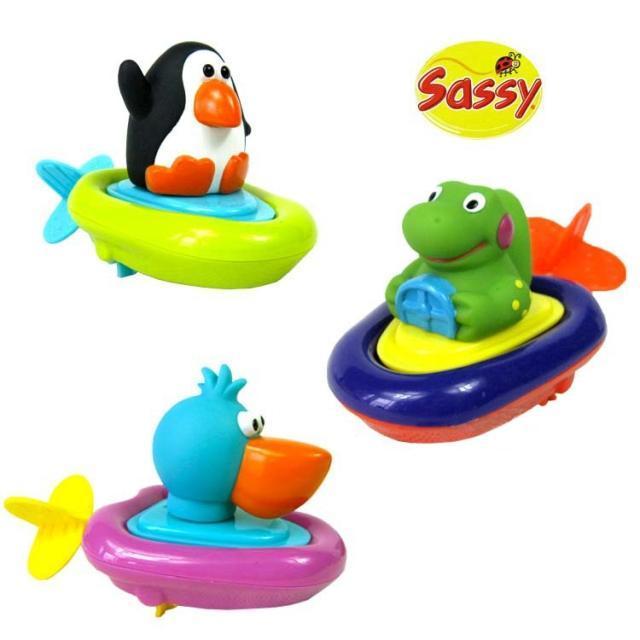 bongbongidea sassy baby pull go boat bath toy. Black Bedroom Furniture Sets. Home Design Ideas