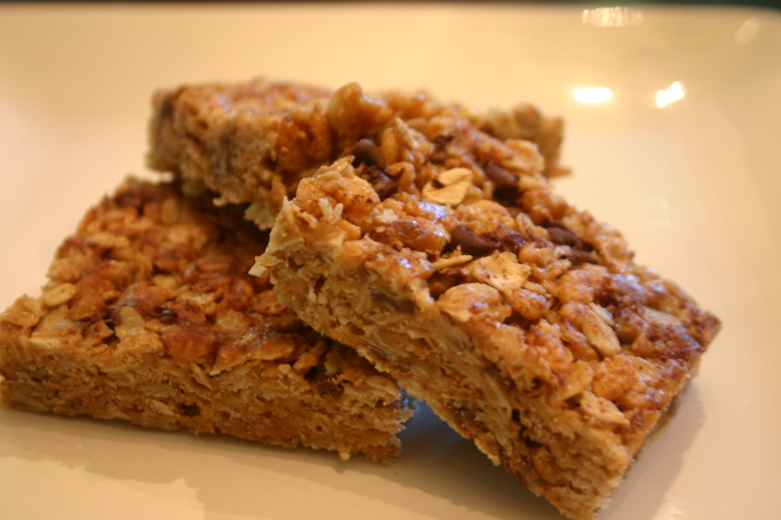 Pure Pursuit: No Bake Brown Rice and Oat Crispy Treats