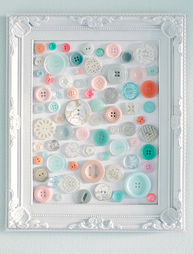 Creative and Cool Ways To Reuse Old Buttons (15) 1