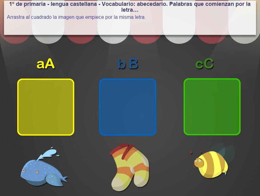 http://www.mundoprimaria.com/juegos/lenguaje/vocabulario/1-primaria/219-juego-abecedario-empezar-letra/index.php