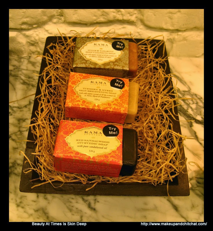 Organic soaps at Kama Ayurveda