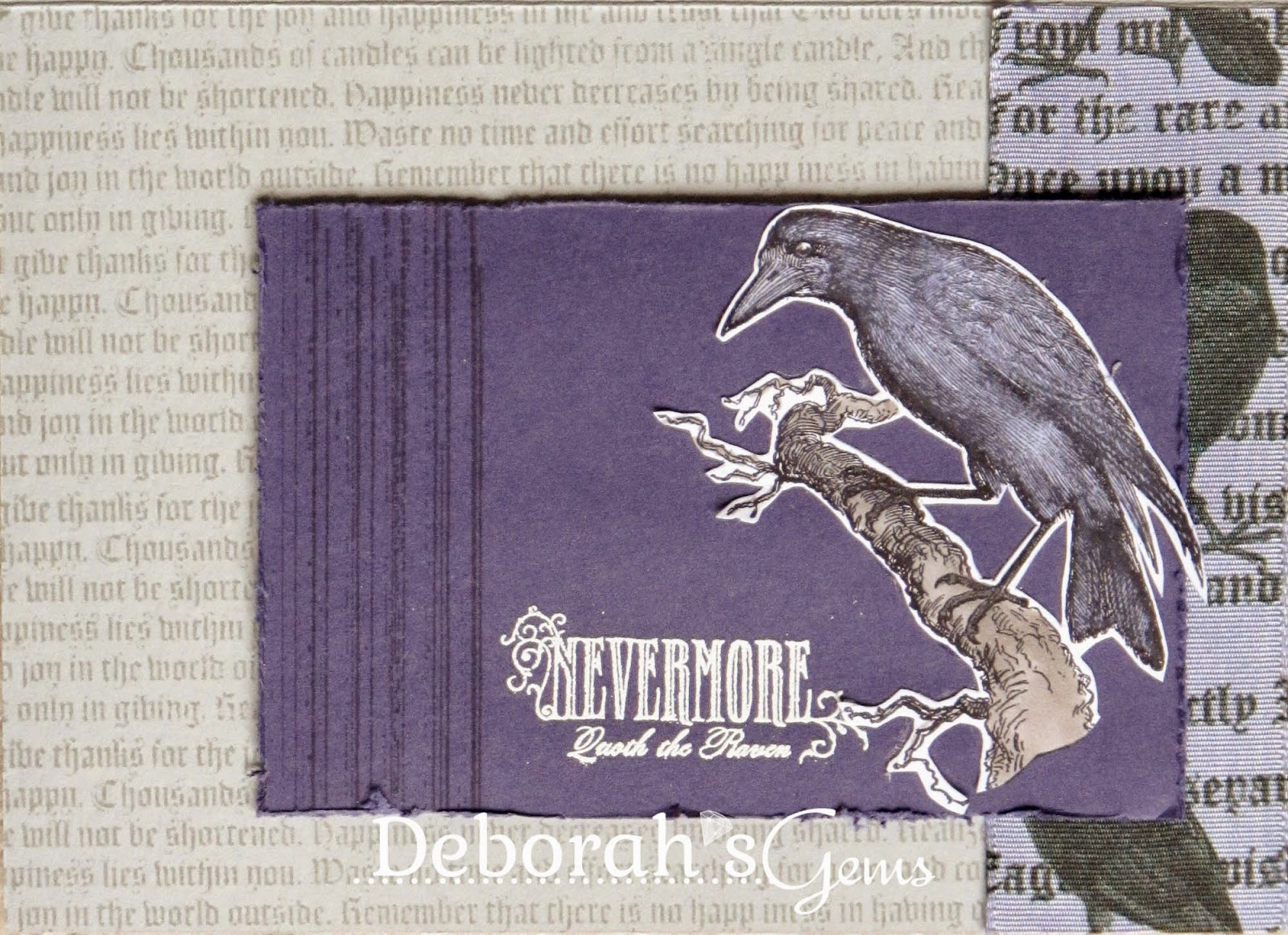Nevermore - photo by Deborah Frings - Deborah's Gems
