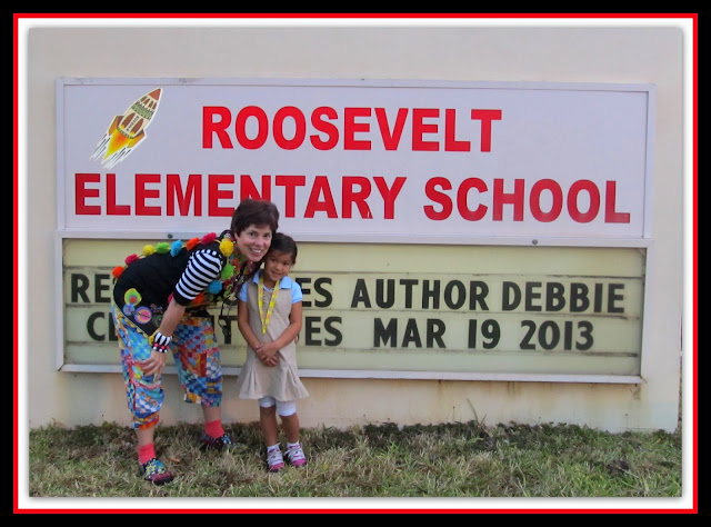 photo of: School Visit with Debbie Clement