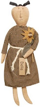 ★Delia Doll★Sunflower★Primitive★Country★Folk Art★Spring