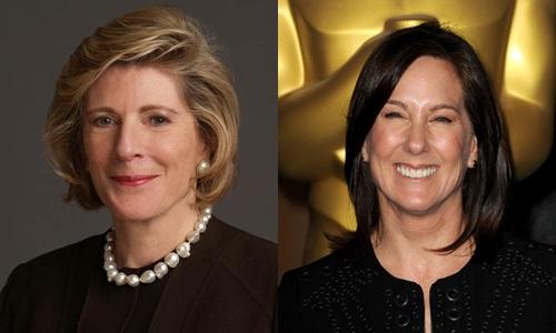 o Calendário Pirelli 2016 A filantropa Agnes Gund e a produtora Kathleen Kennedy