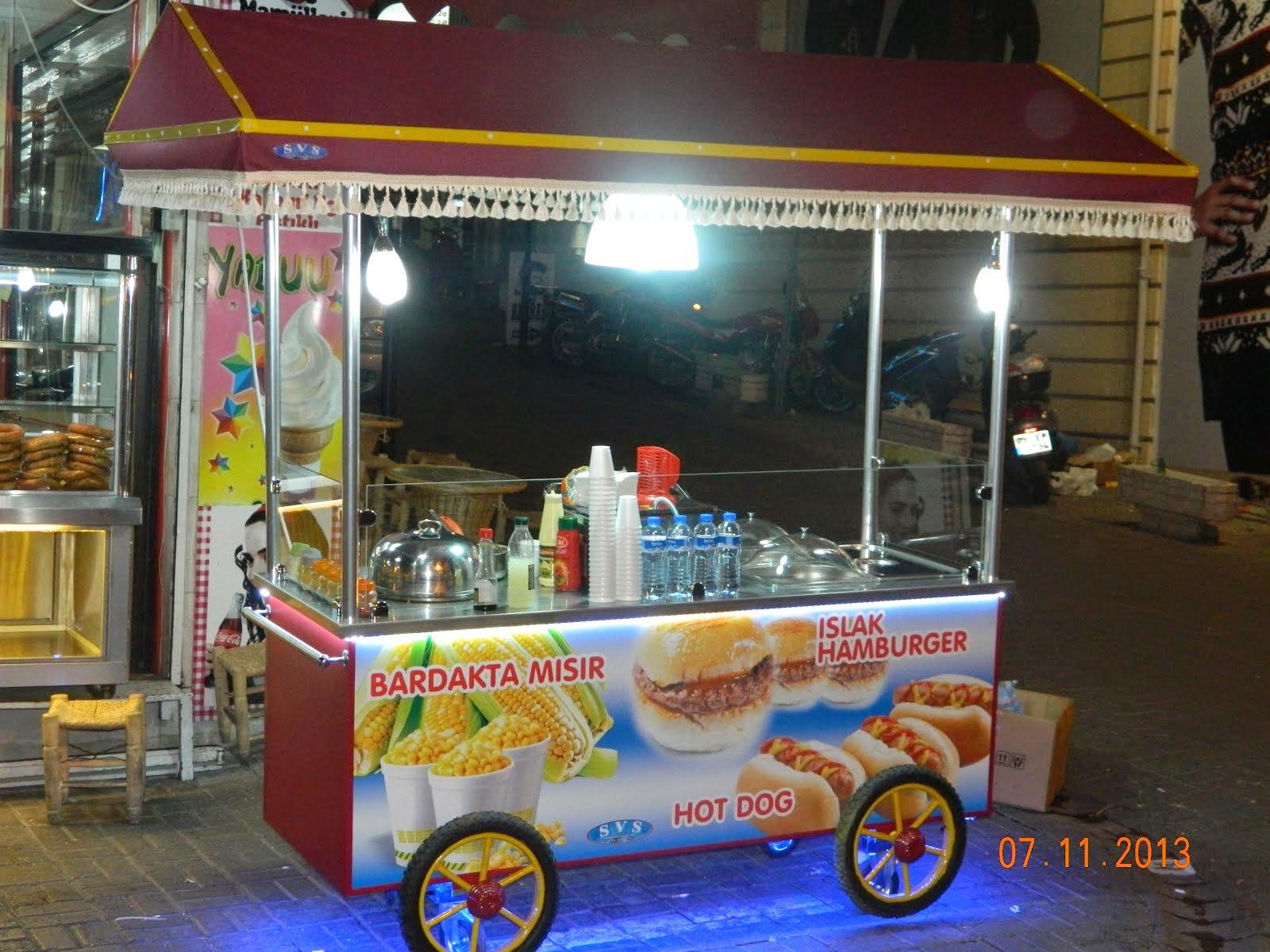 Islak Hamburger- Bardakta Mısır
