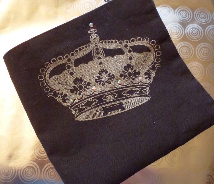 MyStyle Krone mit Strasssteinen