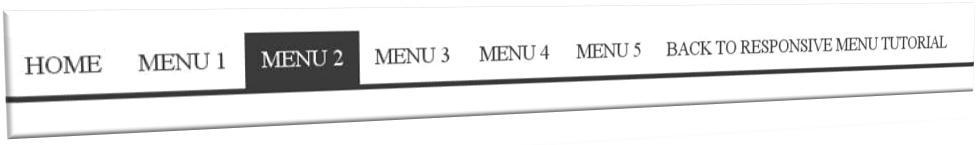 Responsive, Dropdown Menu, menu responsive