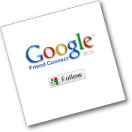 Follow Via Google Friend Connect