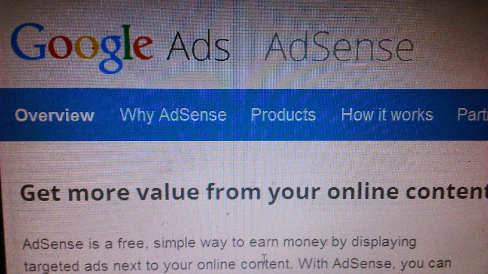 menghindari akun adsense di banned