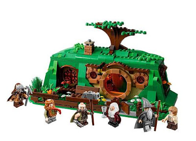 Hobbit Lego Bilbo Gandalf Krasnoludy