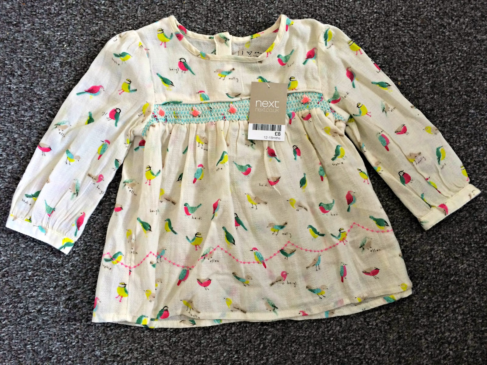 Next Bird Print Blouse