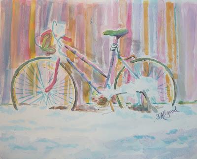 Abandoned Girlie Bike