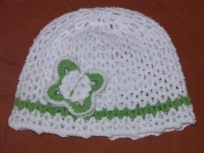 Детская шапка стрейч крючком