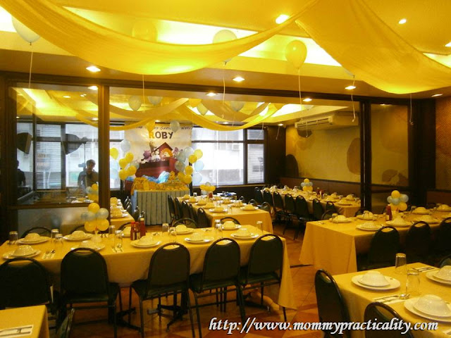 Mommy Practicality: Max's Restaurant Baptismal Reception and Party ...