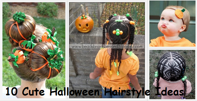 10 Cute Halloween Hairstyle Ideas