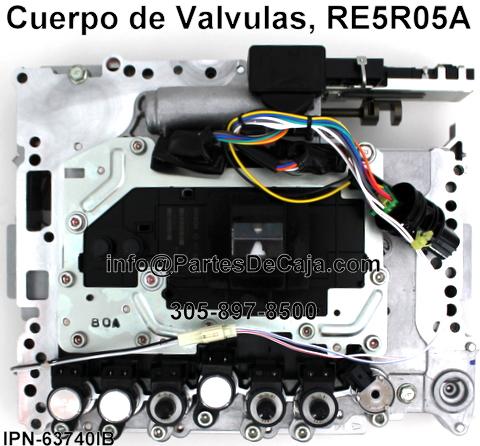 Cuerpo De Valvulas Infiniti Re5r05a Pictures
