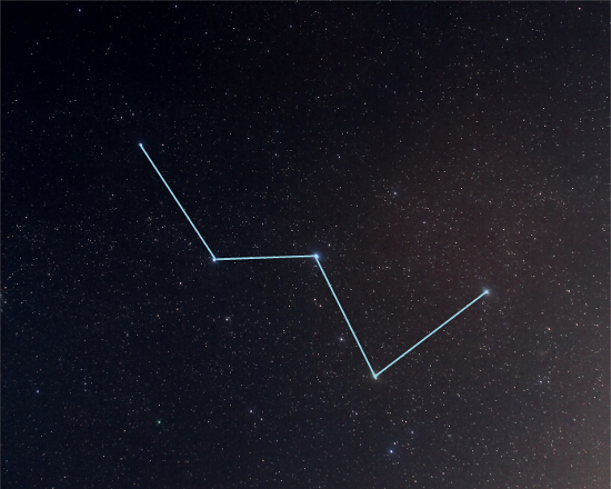 Constelacion de Casiopea - Mitologia - El cielo de Rasal
