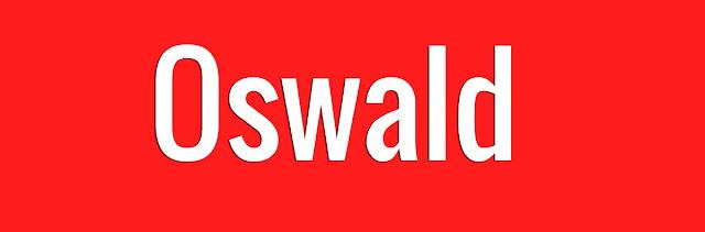 Oswald Font notepedia