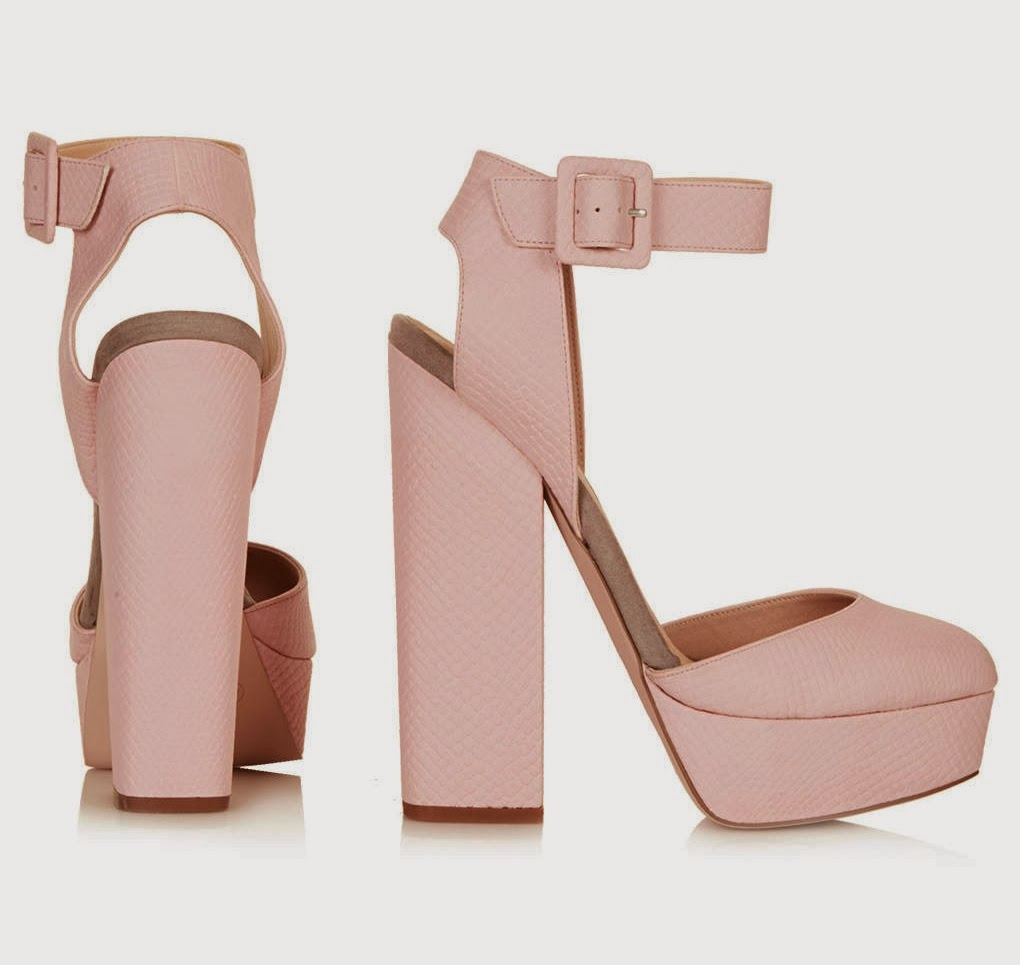 Topshop, Pastels, Shelley, Platforms