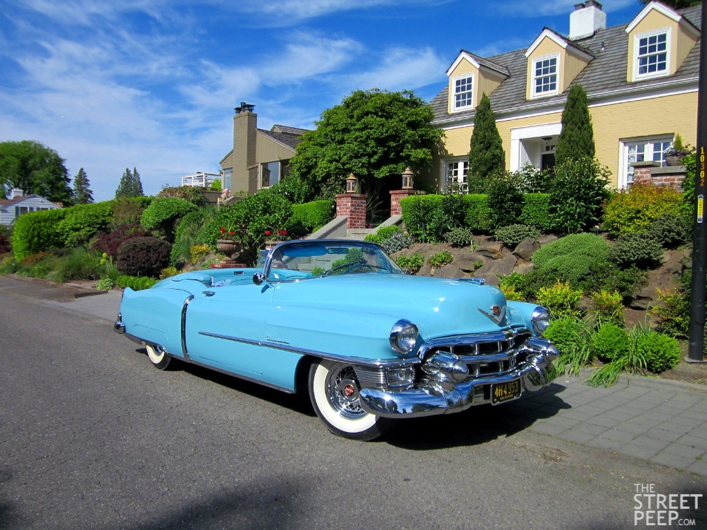 THE STREET P: 1953 Cadillac Eldorado Convertible