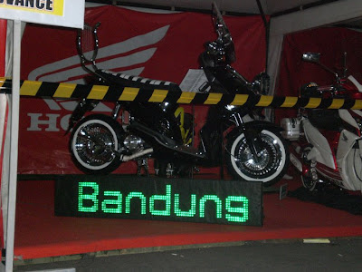 honda beat touring modif