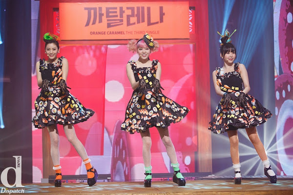 Orange Caramel Catallena Live M! Countdown 140313