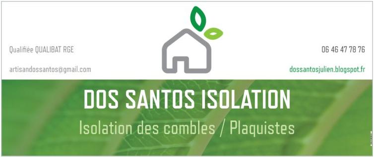 Dos Santos Isolation des combles et Plaquistes