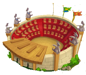 foto del estadio de dragon city