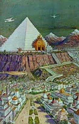 Templo de los Misterios de Atlante (Imagen idealista)