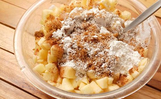 Как сделать начинку для пирожков с яблоками в духовке