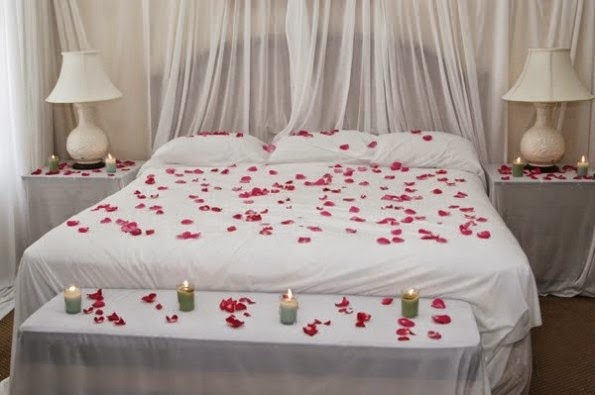 Decoration ideas beautiful wedding bedroom news for Wedding bedroom decoration ideas