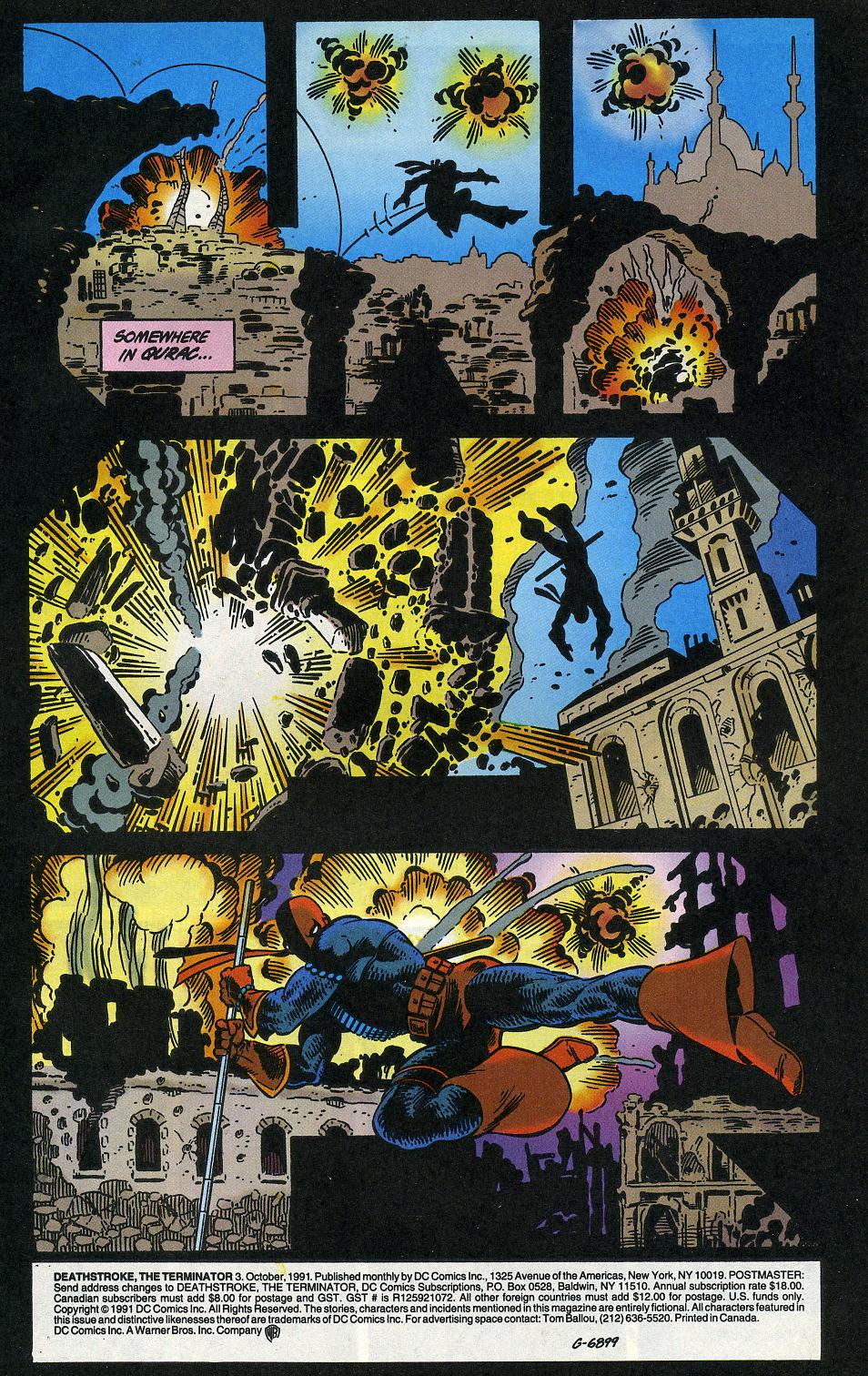 Deathstroke (1991) Issue #3 #8 - English 3