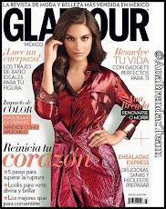 Ana Brenda en la portada de JULIO de la revista Glamour