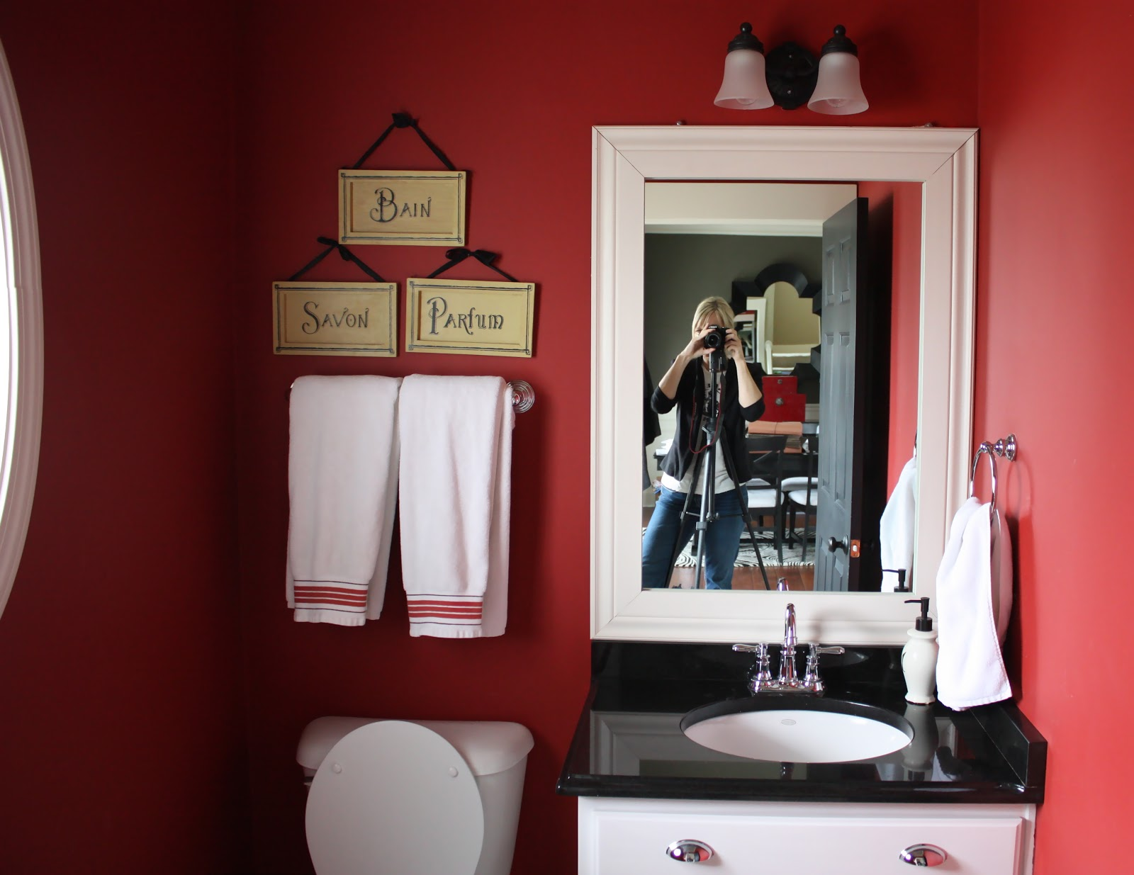 Superb My Powder Room Makeover Reveal And a Giveaway