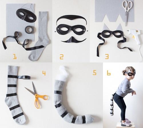 como hacer un disfraz facil