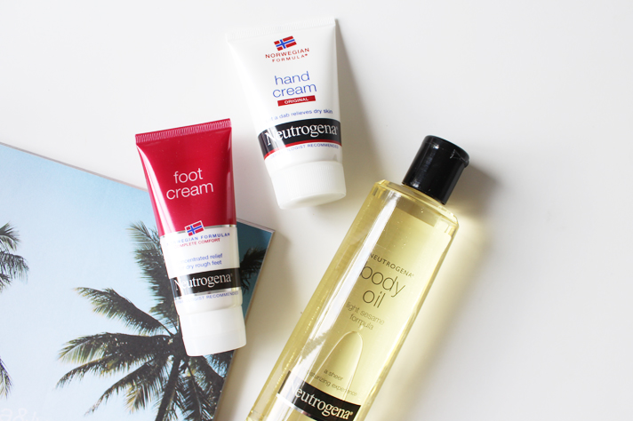 NEUTROGENA // Foot Cream, Hand Cream + Body Oil | Review - CassandraMyee