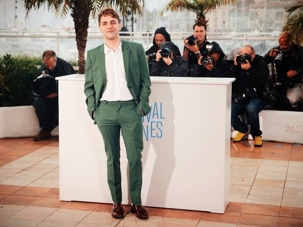 Xavier Dolan in Kris Van Assche - 'Mommy' Photocall, The 67th Annual Cannes Film Festival #Cannes2014