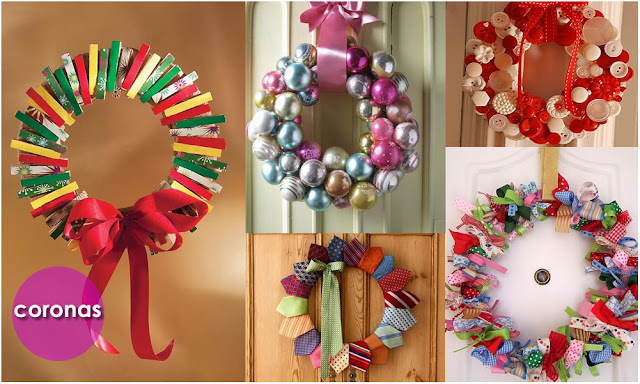 En la botica viste tu casa de navidad adornos y centros for Arreglos navidenos para puertas