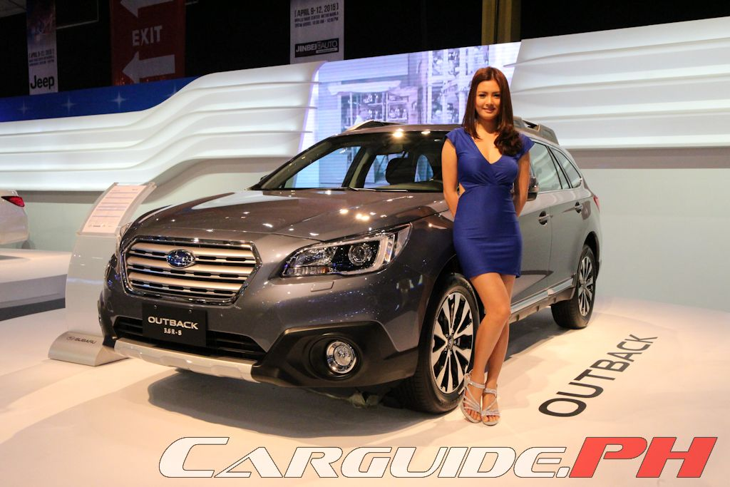 new car launches in philippinesMIAS 2015 AllNew Legacy and Outback Headline Subarus Premium