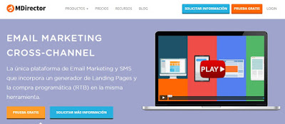 La herramienta de marketing MDirector