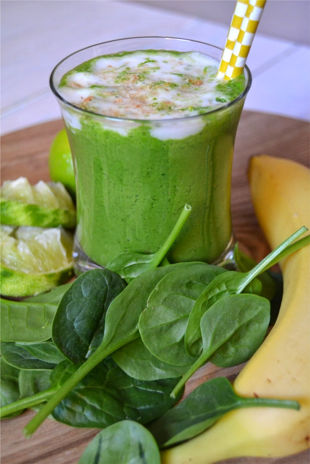 Key Lime Pie Flavour Smoothie