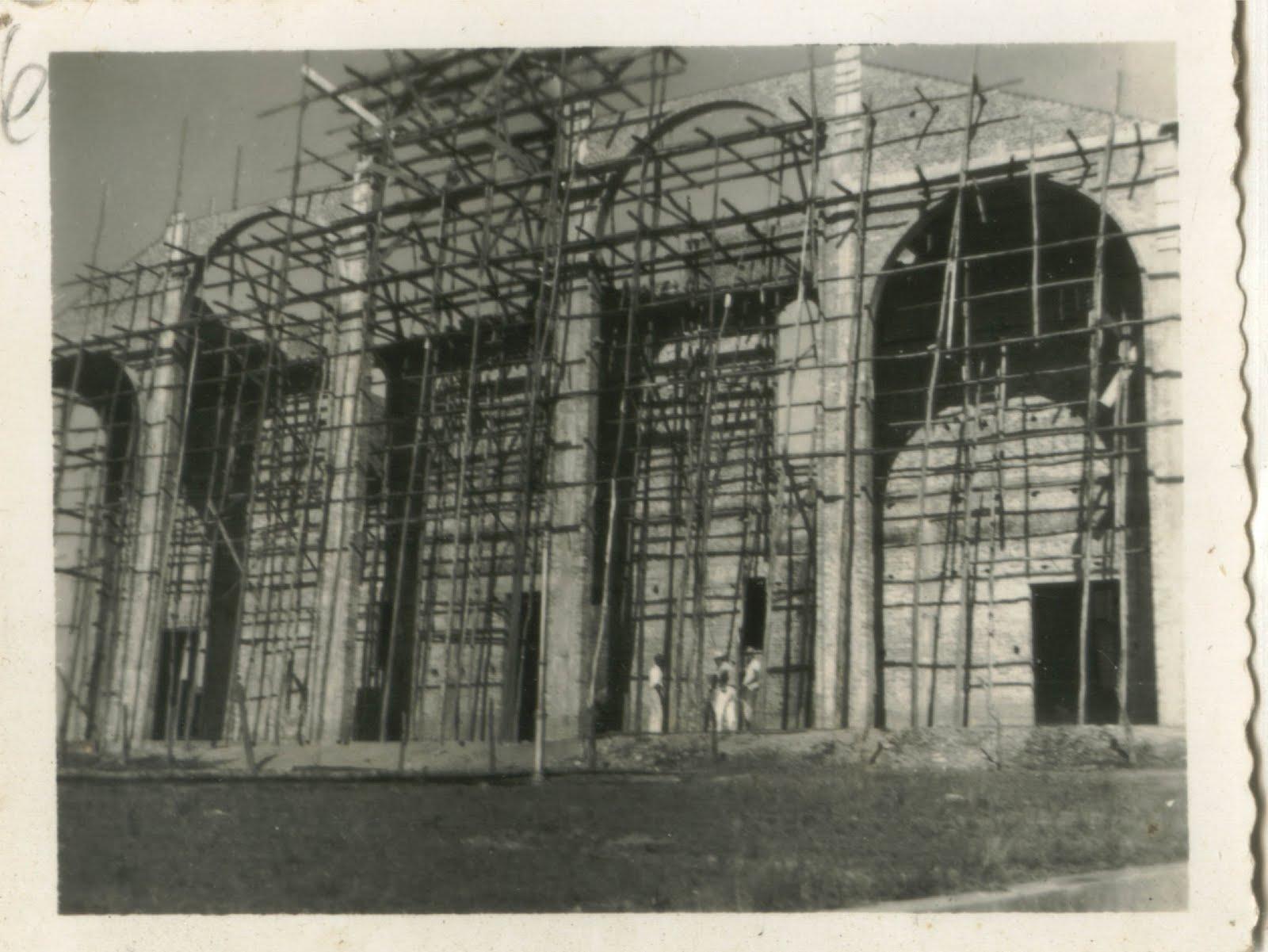 Obra Igreja de São Sebastião de Barbacena MG