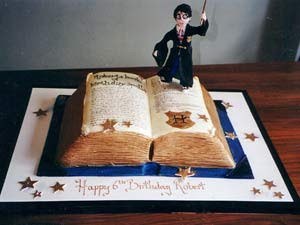Harry Potter Birthday Cake Designs