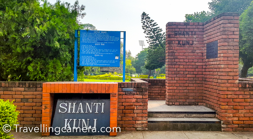 If you have ever visited Chandigarh, there is high probability that you also visited Sukhna Lake , Rock Garden and Rose Garden . These are some of the popular places to explore in Chandigarh city. Apart from these options, there is another well maintained garden near Rose Garden and easily approachable from Rock Garden as well as Sukhna Lake. This Photo Journey shares more about Shanti Kunj, it's timings, things to do etc.When you are walking from Leisure Valley to Rose Garden and takes exit from other side, Shanti Kunj is just in front of the other exit of Rose Garden. All these 3 well maintained green landscapes are close to each other.Inside Shanti Kunj, there is a small canteen where you can find light snacks, juices, tea etc. They have nice place to sit and enjoy your snacks.Shanti Kunj also has clean washrooms and here I would want to highlight this fact that Chandigarh has washrooms located in different parts of the city and most of them are well maintained. It's not very hard to find washrooms in Chandigarh city as opposed to Delhi. In Delhi, this has been a huge concern, especially for women. With time, Delhi has also tried to improve in this area.Shanti Kunj has few water streams and hence these over-bridges.  They look beautiful and we planned to click few photographs around this. Most of the folks crossing through this bridge were also clicking a selfie :). We also tried one, but didn't come good as usual.Chandigarh has lot of such green spaces and recently city is building another Japanese theme park in sector-31 and this one also looks quite promising. Hope to visit the Japanese park again, when it's complete. Chandigarh keeps adding some interesting places in the city. Few years back the city got a new lake in sector-42Shanti Kunj is full of flora and fauna. There are various kinds of flowers all around and well maintained. You can see gardeners doing their job at any time in Shanti Kunj. Most of the lawns in Shanti Kunj has neat grass and you would definitely feel like stepping onto these lawns and sit for some time. Dustbins are installed in different parts of the park, hence it's clean.Shanti Kunj is located at a very peaceful place in Sector-16, which is in middle for Rock Garden and Cricket Stadium. Shanti Kunj also contains a plenty of medicinal plants which are utilized to cure several diseases. Park has one natural stream that runs through this garden divides whole area into five different segmentsLot of folks come to Shanti Kunj for jogging. All nature lovers and fitness freaks love to visit this beautiful place. If you are going there first time, keep 1-2 hrs for exploring this place. There are different kinds of flowers, trees and birds all around. And if needed, catch one of the gardeners to know more about these plants and birds.Sukhna Lake is just 3.9 kilometers from Shanti Kunj and Rock Garden is at 2.9 km in same directions.While sitting under one of the trees at Shanti Kunj, we experienced a beautiful fragrance around us. When looked around, we found a Maulshree tree next to us. The beautiful white flowers were lying all around and the fragrance of these flowers was making the place more lovable.Timings of Shanti Kunj - 8am to 8pm (All Days)